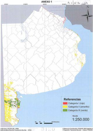 mapa bosques