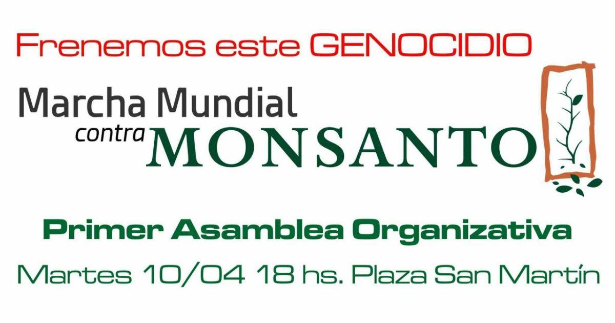 En Argentina y en el mundo: comienza a armarse la Marcha Mundial contra Monsanto