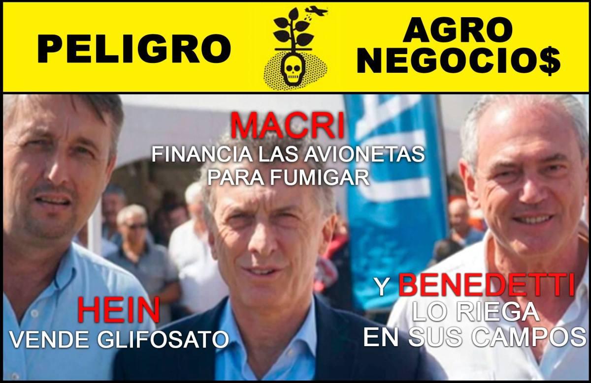 """Con muertes por cáncer que """"aumentan más que la inflación"""", Macri avala las fumigaciones con agrotóxicos en Entre Ríos"""